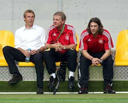 """Klinsmann, Wortmann, Frings: """"Die Spieler zeigten Größe"""""""