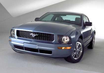 Ford Mustang Modelljahr 2005: Revival der Urform