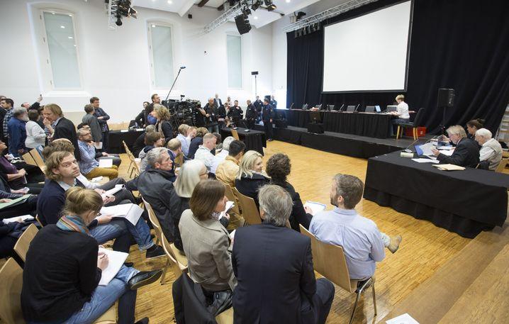 Verhandlungssaal in Lüneburg: Kein böses Wort von Überlebenden