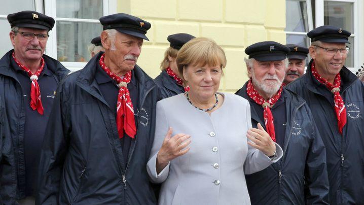 Angela Merkel in Mecklenburg-Vorpommern