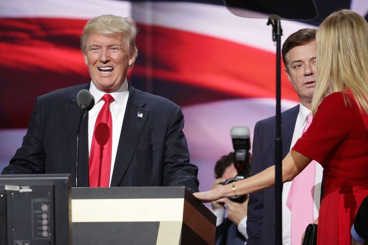 Donald Trump und Paul Manafort