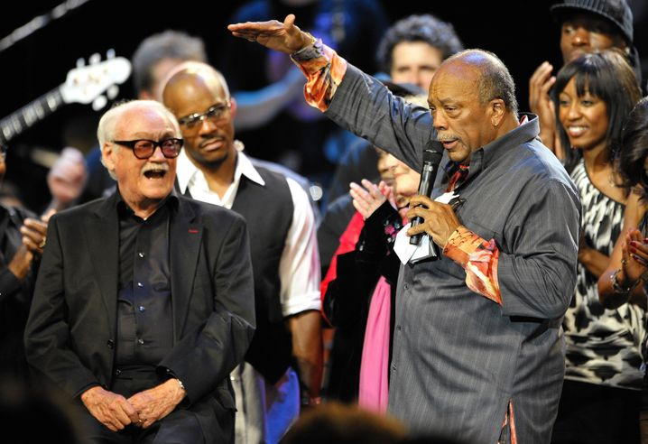 Thielemans mit Quincy Jones