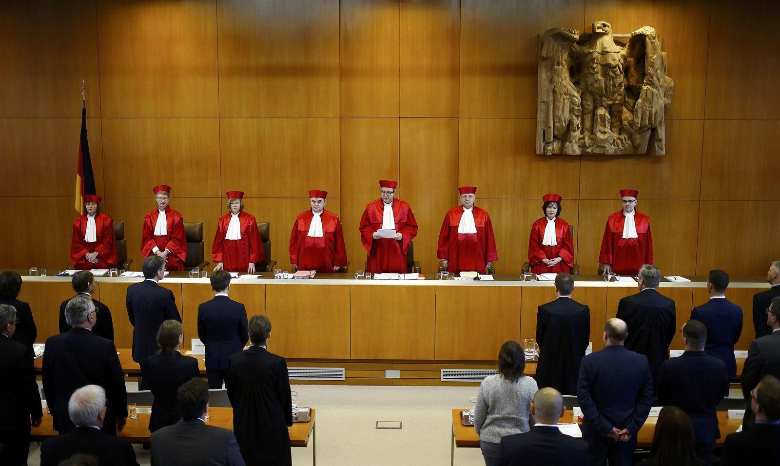 Zweiter Senat/ Bundesverfassungsgericht/ Karlsruhe