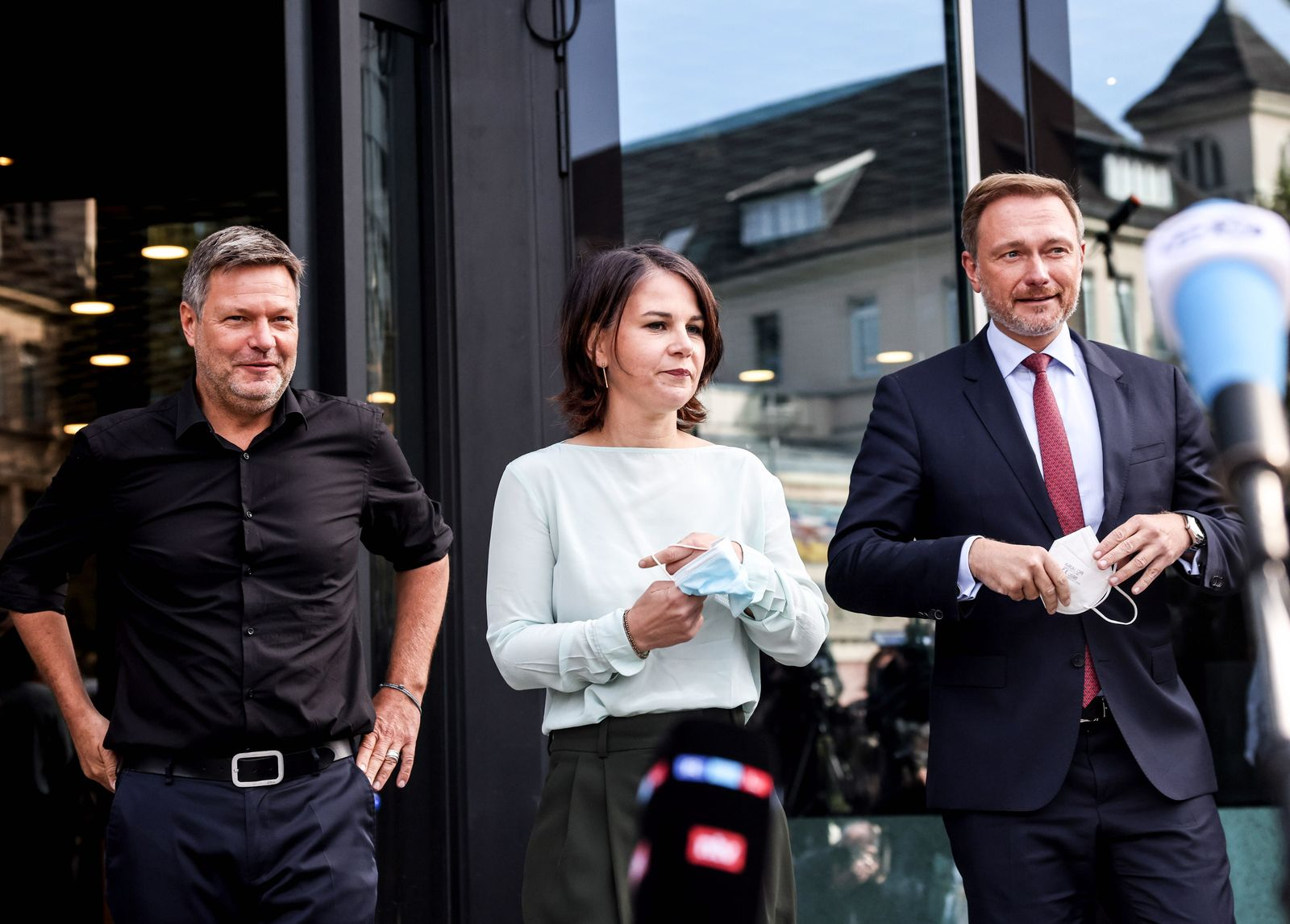Free Democratic Party (FDP) - Green party exploratory talks