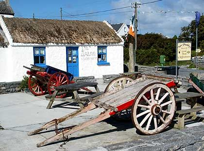 Aran Islands: Cottage auf Inishmore