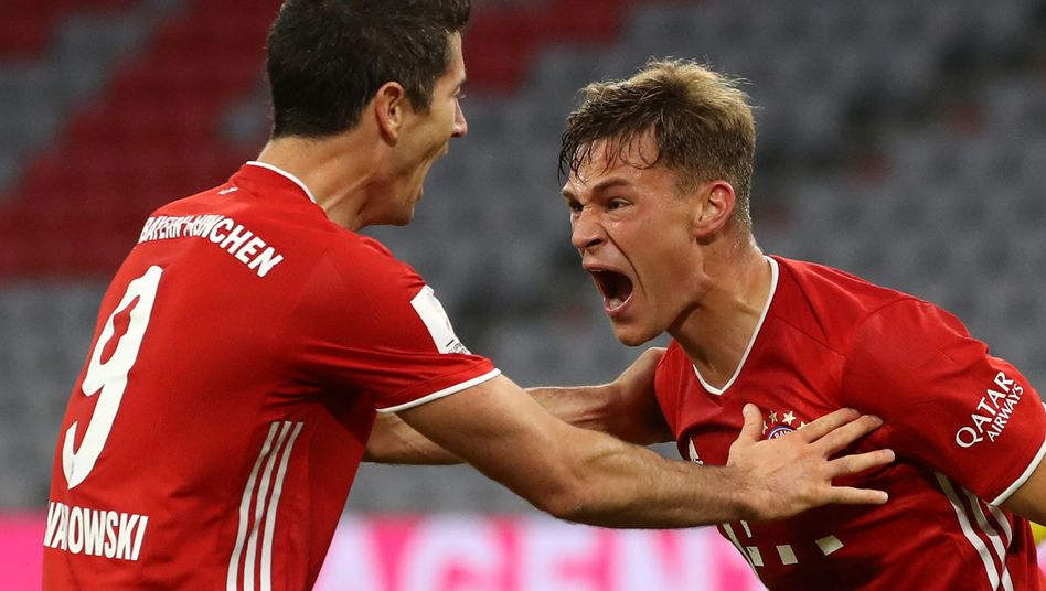 Joshua Kimmich in Action