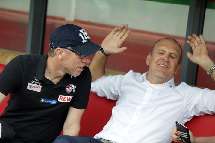 FC-Trainer Peter Stöger, Manager Jörg Schmadtke
