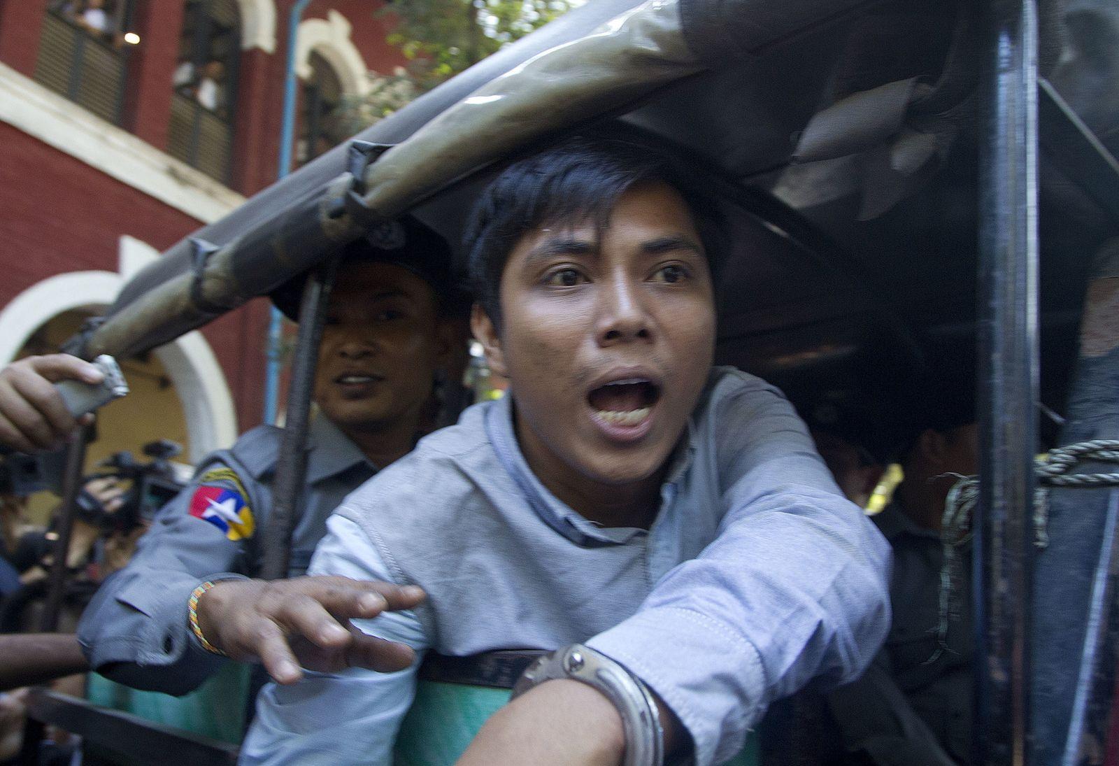 Myanmar/VerhafteteReuters-Reporter/ Rohingya