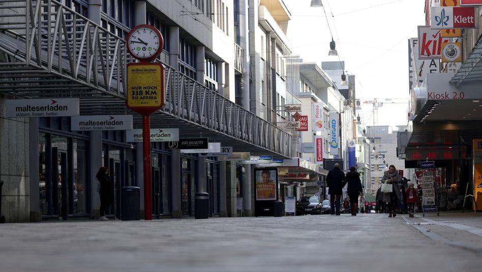 Innenstadt in Dortmund: Das öffentliche Leben kommt zum Stillstand