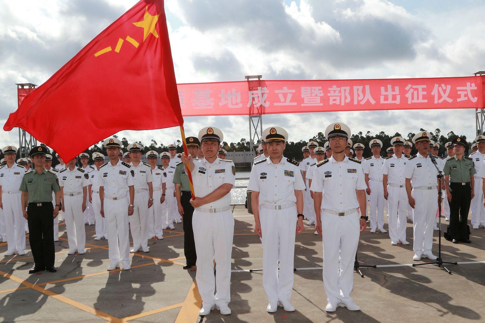 China / Militär/ Dschibuti