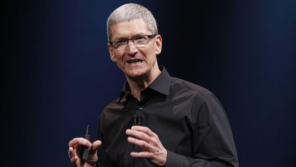 Apple-Chef Tim Cook: Mehr als eine halbe Million Dollar für einen Plausch