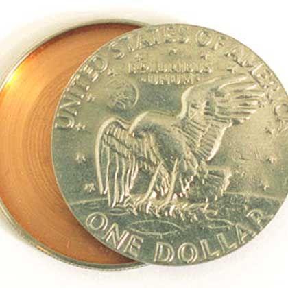 CIA-Dollarmünze: Geldstück als Transportbehälter für Geheimes