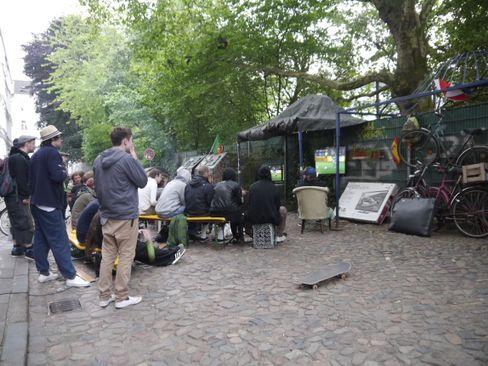 Straßenfußball mal anders: Ein total nettes Fußballfest in Hamburg