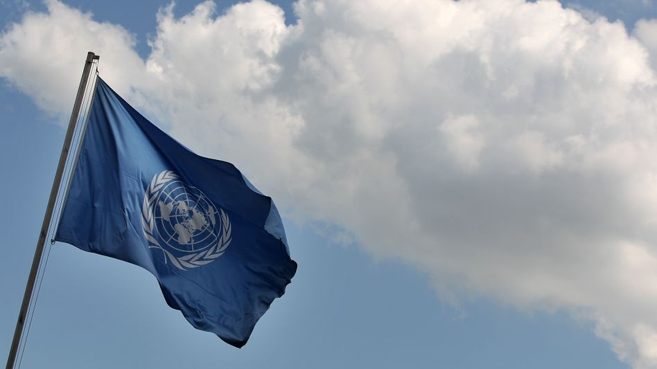Fahne der Vereinten Nationen: Erneute Absage