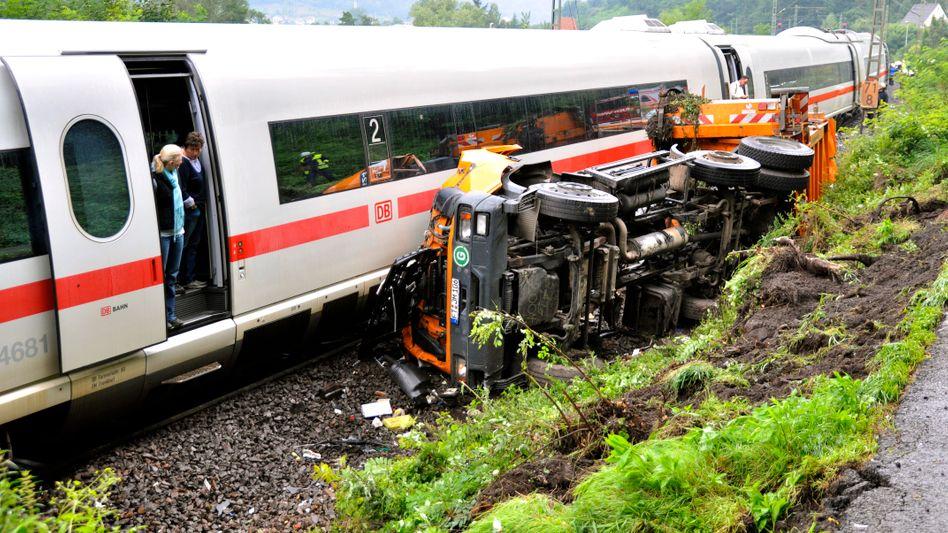 Rheinland-Pfalz: Zahl der Verletzten bei ICE-Unfall steigt auf 15