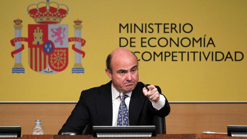 Wirtschaftsminister Guindos: Konditionen müssen noch ausgehandelt werden