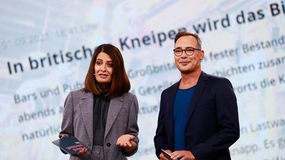 Linda Zervakis und Matthias Opdenhövel: Könnten noch richtig gut werden