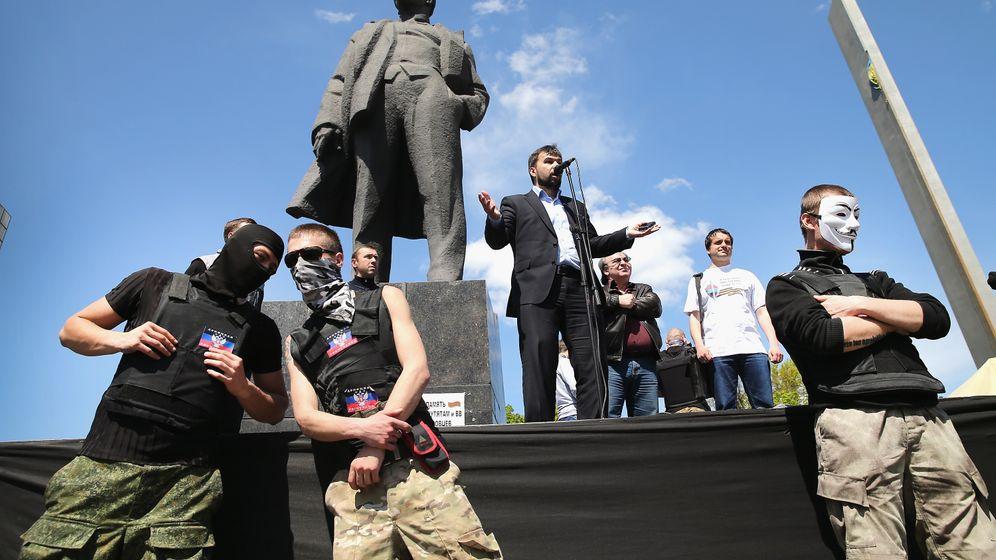 """Donezk: Wilder Haufen """"regiert"""" Donezk"""