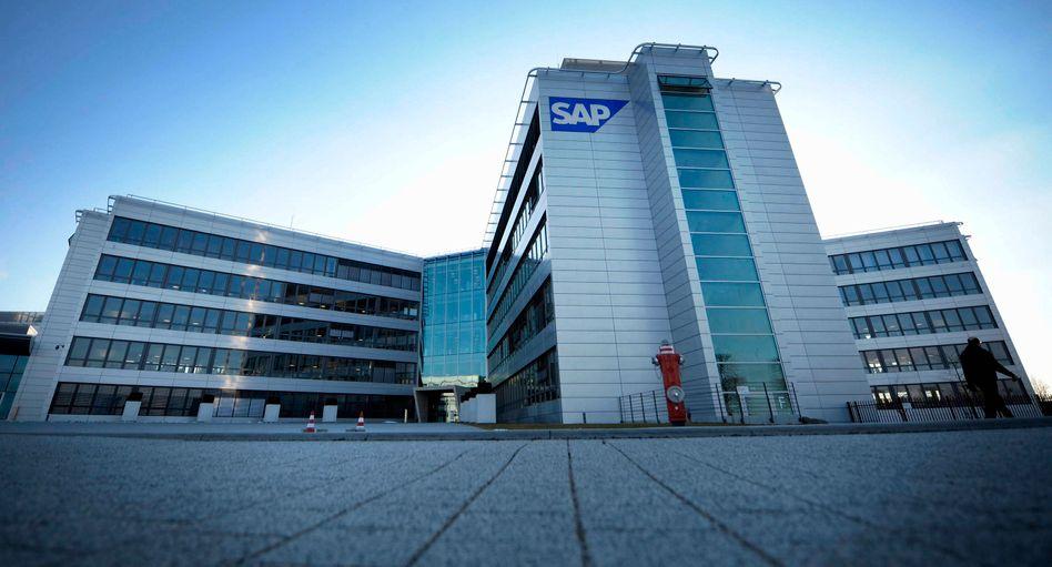 SAP-Hauptsitz in Walldorf bei Heidelberg: 4,6 Milliarden Euro für das Unternehmen Sybase