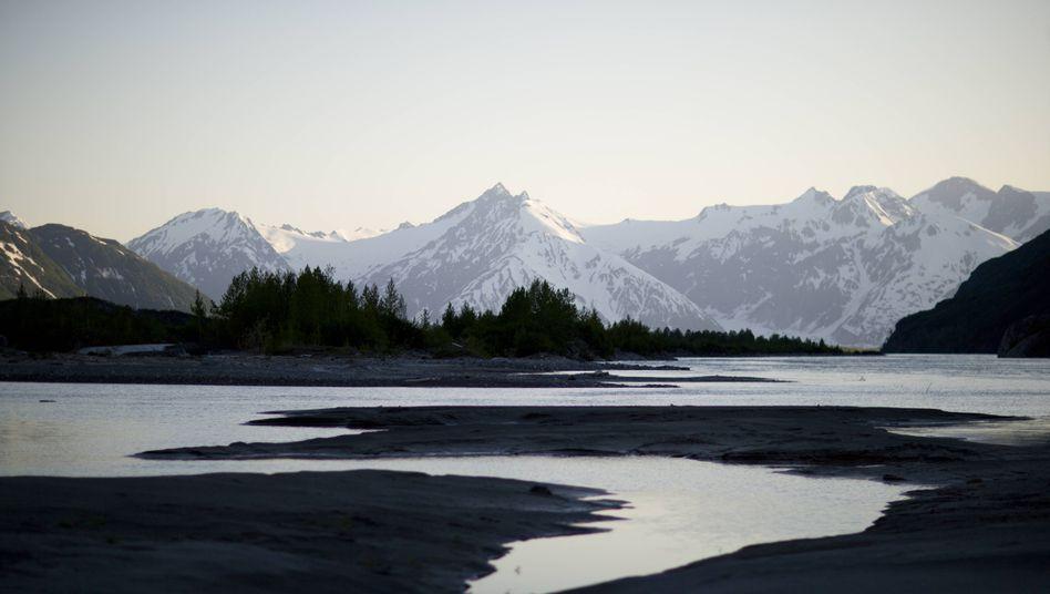 Alsek River in Alaska