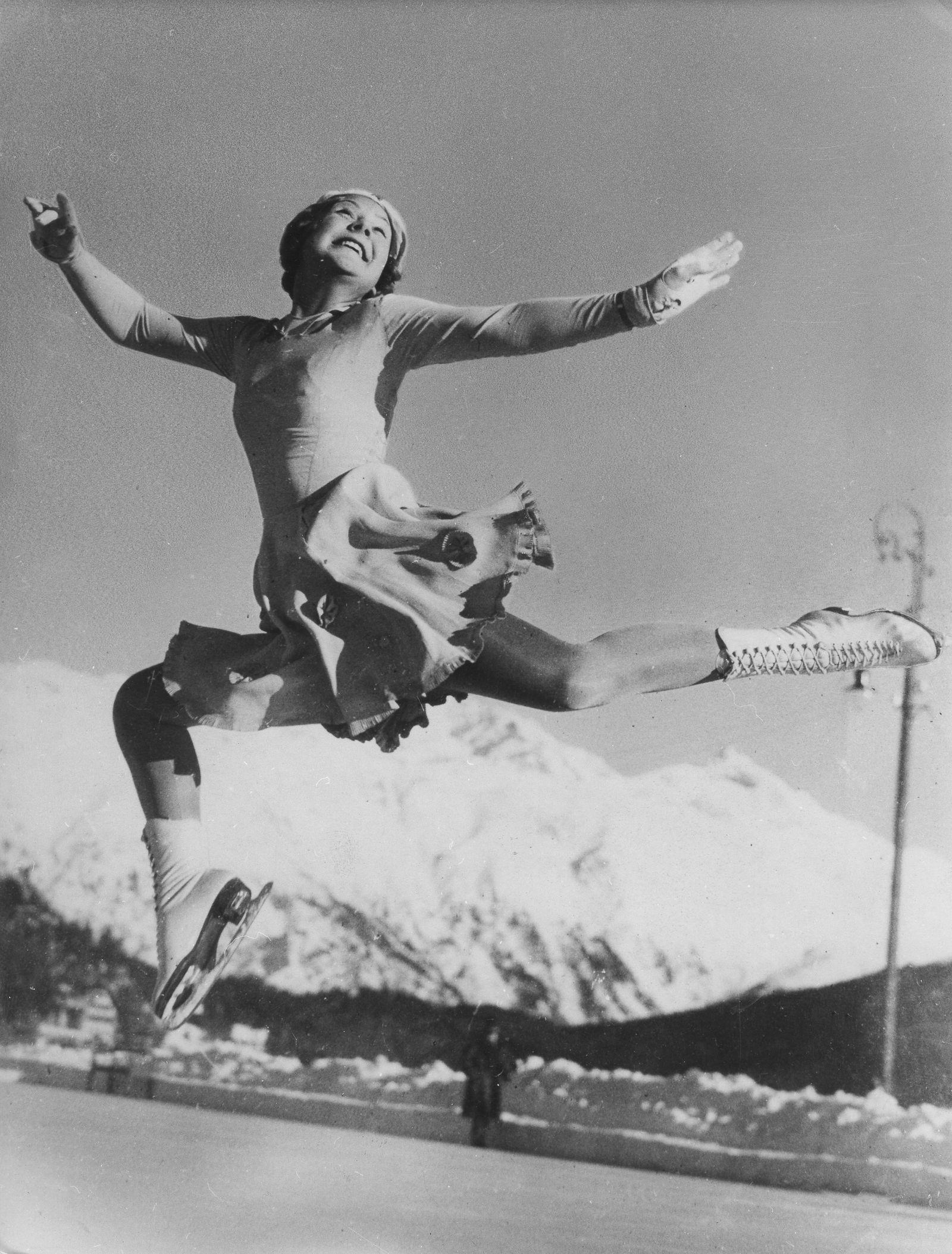 Olympische Winterspiele 1936 in Garmisch-Partenkirchen - Sonja Henie