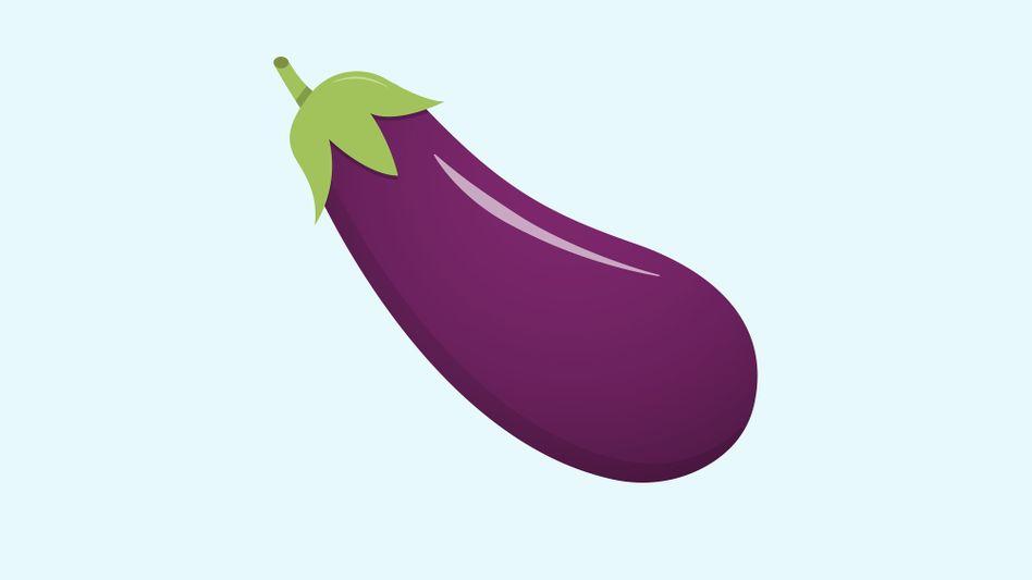 Die Aubergine: semantisch aufgeladenes Emoji