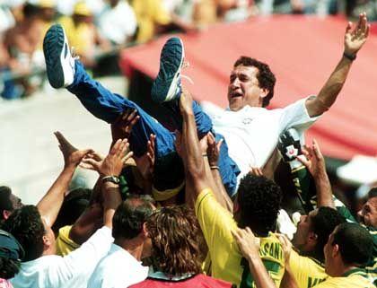 Carlos Alberto Parreira nach dem Gewinn des WM-Titels 1994: Individuelle Klasse der Spieler