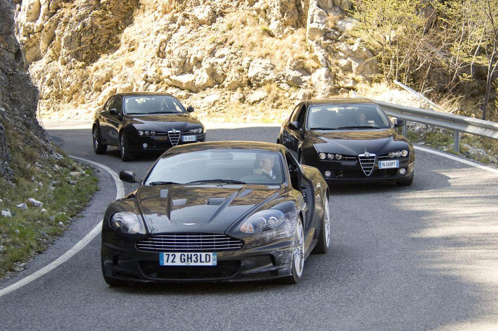 EINMALIGE VERWENDUNG Quantum of Solace / Ein Quantum Trost / James Bond Aston Martin