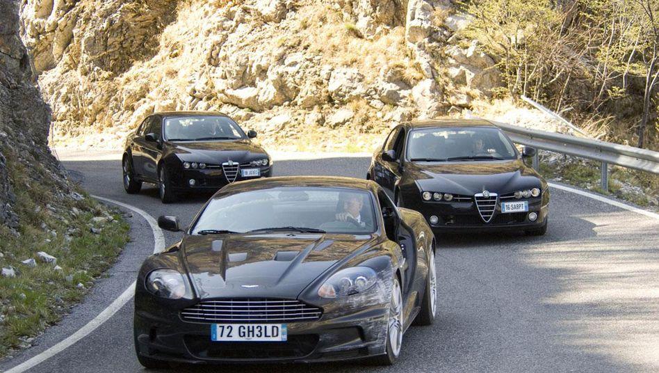 "Aston Martin im James-Bond-Film ""Ein Quantum Trost"""