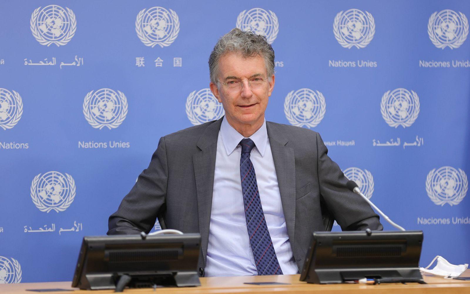 July 30, 2020, New York, NY, USA: United Nations, New York, USA, July 30, 2020 - Christoph Heusgen, Permanent Represent