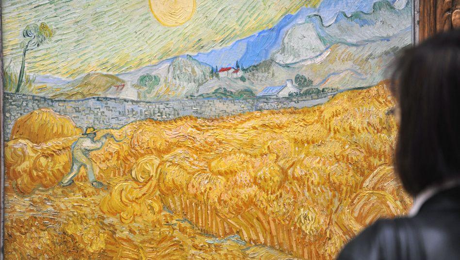 """""""Der Schnitter"""": UV-Licht greift Van-Gogh-Gemälde an"""