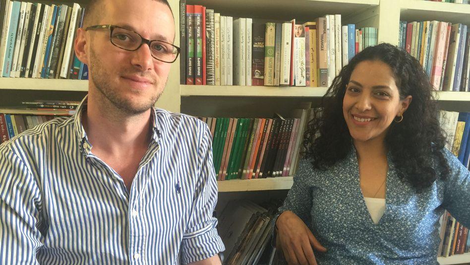 Der jüdische Vater Asaf Ronel und die palästinensische Schauspielerin Ruba Blal-Asfour