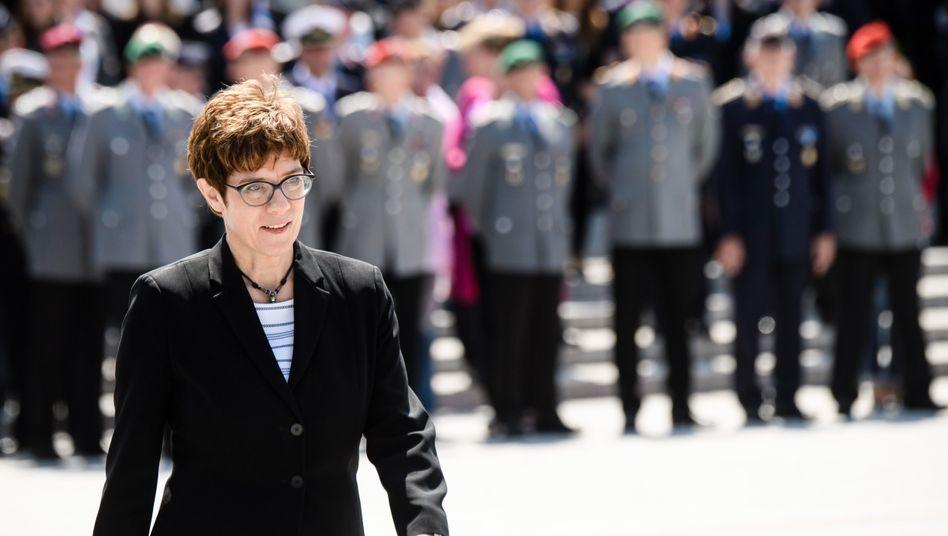 """Annegret Kramp-Karrenbauer: """"Ich will die Stimme der Soldaten sein"""""""
