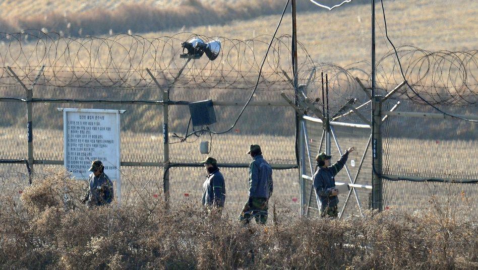 Grenzkonflikt: Nordkorea droht mit neuen Militärschlägen