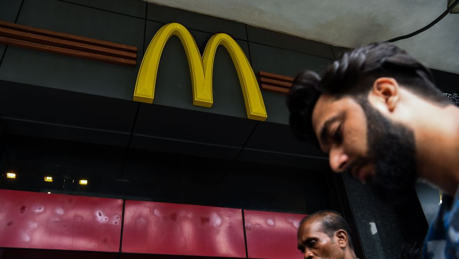 McDonald's-Filiale in Neu Delhi