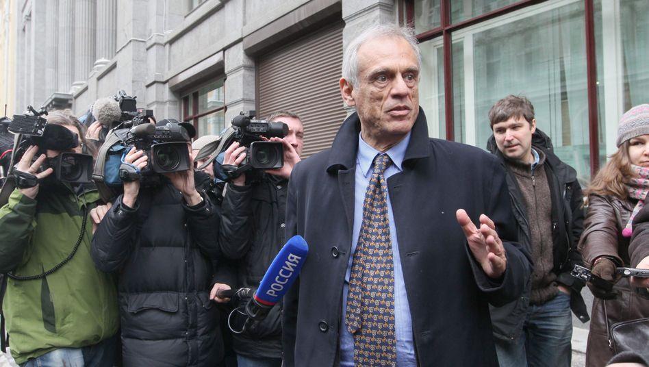 Zyperns Finanzminister Michalis Sarris in Moskau: Harte Verhandlungen mit Russland