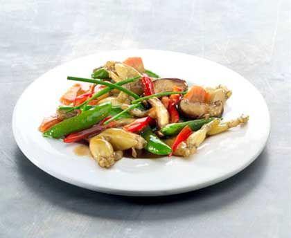 Froschschenkelgericht: Rund elf Tonnen im Jahr verspeisen die Deutschen, das macht nicht einmal 0,2 Gramm Froschbein pro Kopf