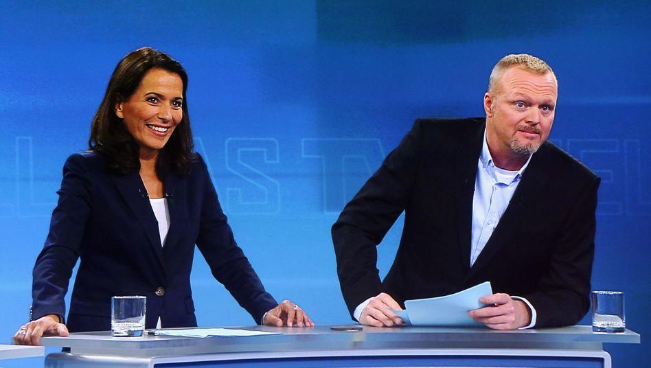 """TV-Duell Moderatoren Will, Raab: """"Ach, war das langweilig!"""""""
