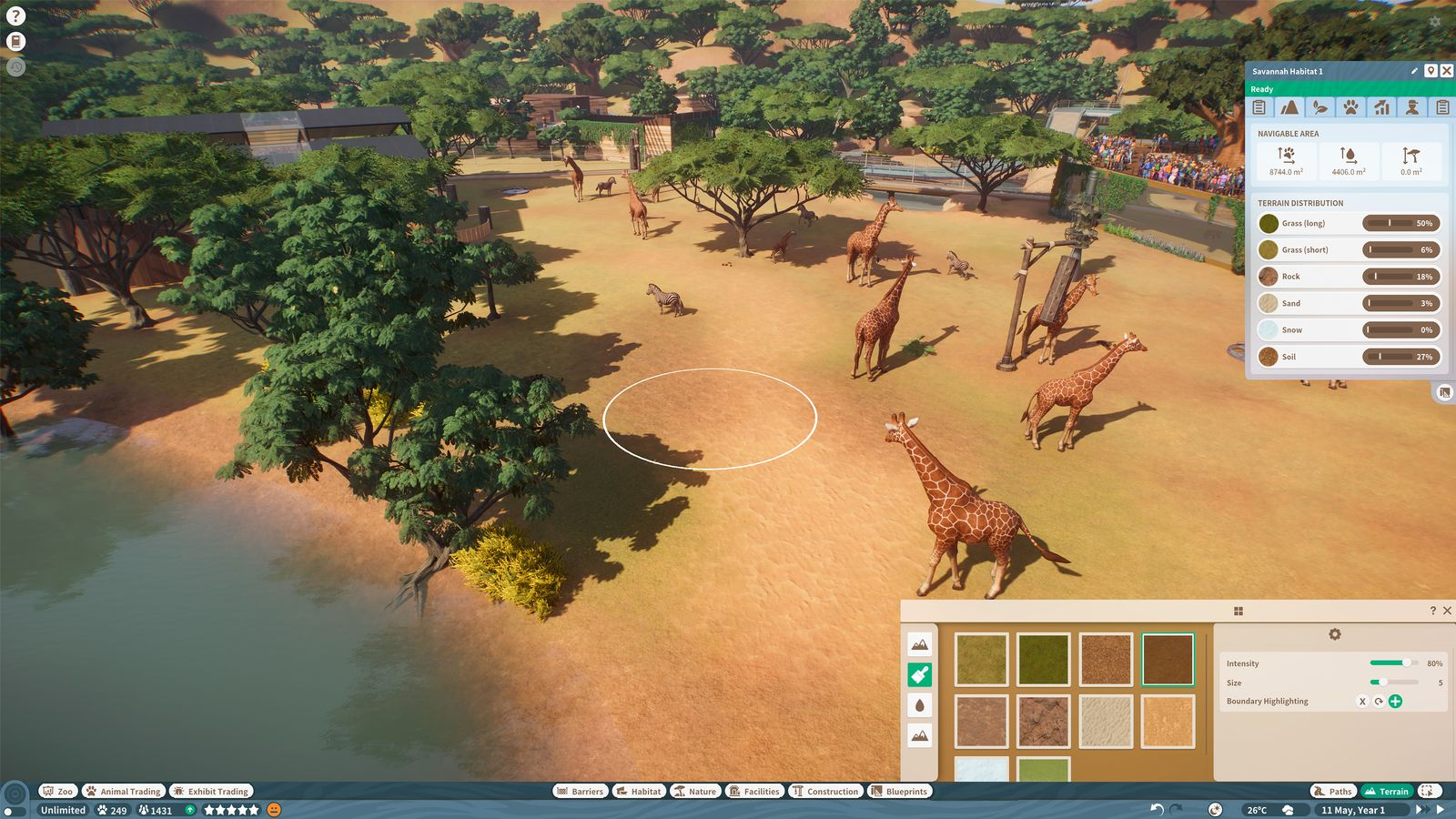 EINMALIGE VERWENDUNG Gamescom Highlights 2019/ Planet Zoo/ Frontier