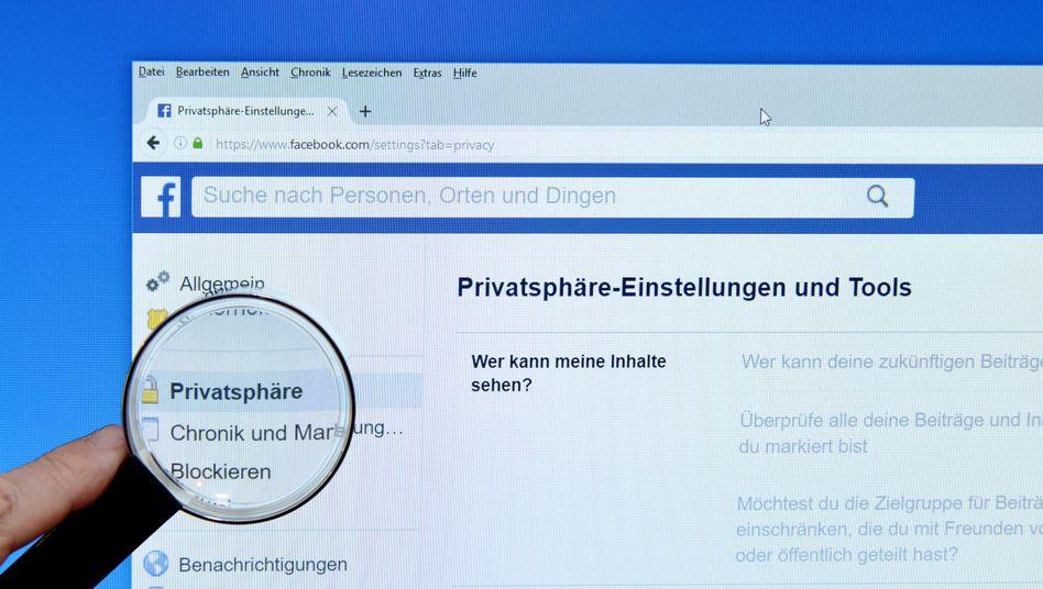 Privatsphäre-Einstellungen bei Facebook
