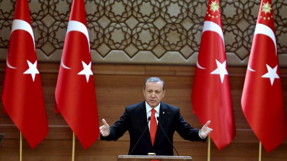 """Präsident Erdogan: """"Sie werden den Preis zahlen"""""""
