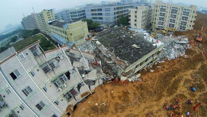 Erdrutsch in Shenzhen: Katastrophe mit Ankündigung