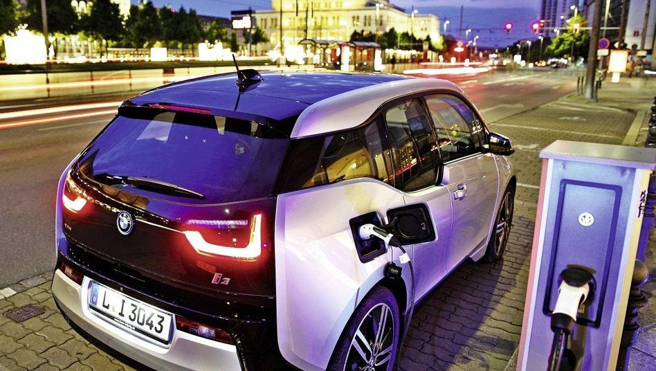 BMW-Modell in Leipzig: Die Elektromobilität boomt anderswo