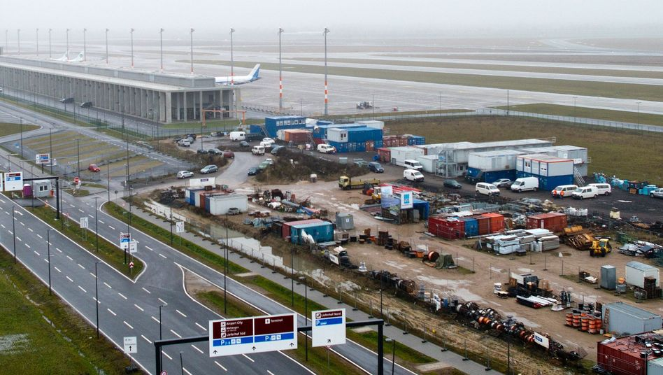 The official opening of Berlin's new international airport has been delayed four times.