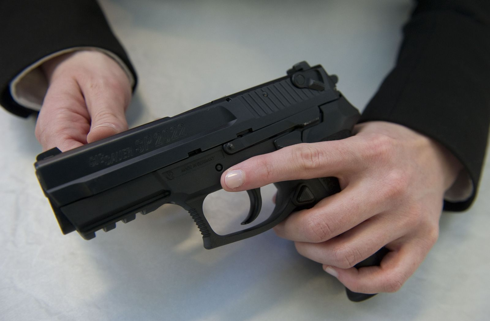 GERMANY-WEAPONS-SIG SAUER