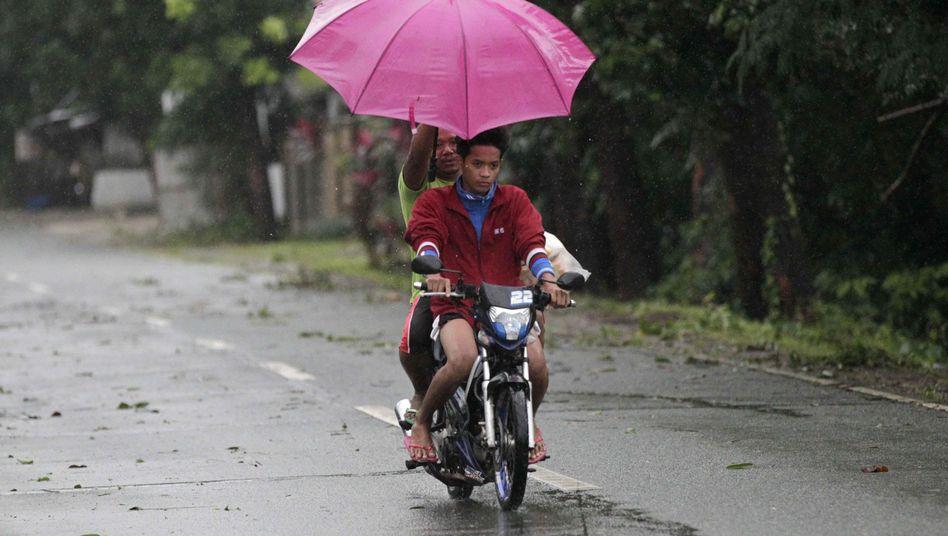 "Tropensturm ""Hagupit"": Aufatmen in Manila"