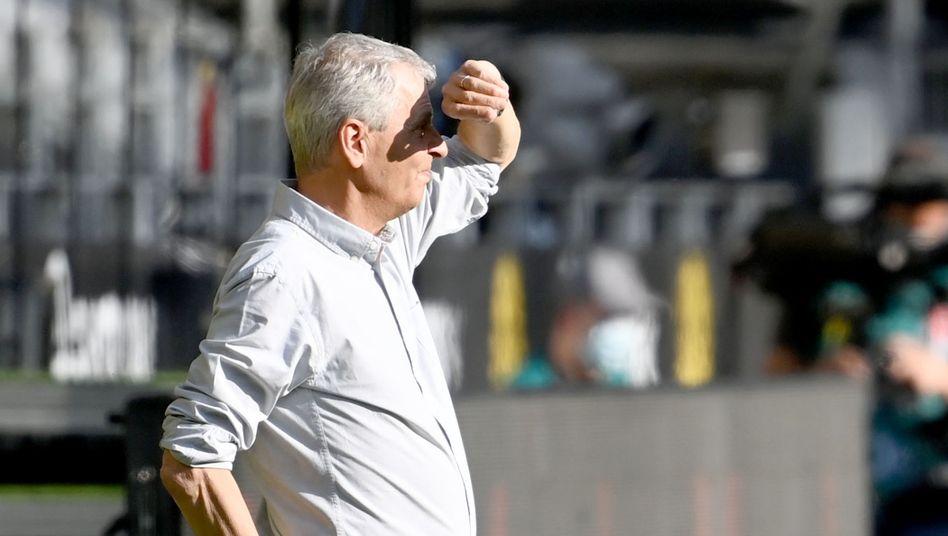 Licht und Schatten: Dortmunds Trainer Lucien Favre