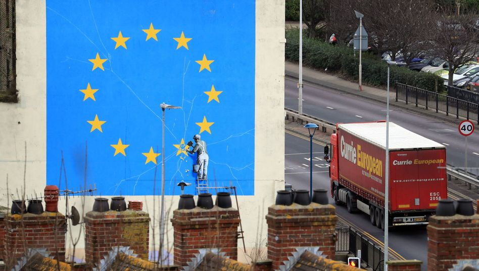 Banksy-Wandbild in Dover