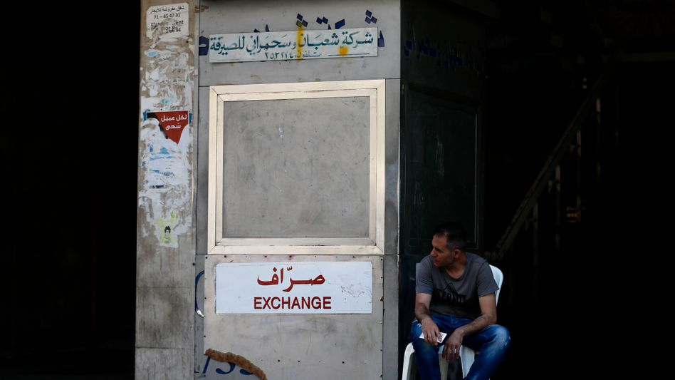 Die Regierung lässt Wechselstuben schließen, um den Währungsverfall zu stoppen
