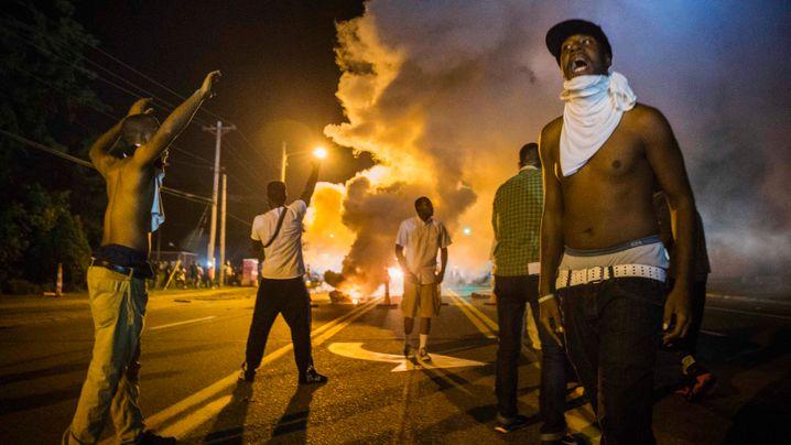 "US-Rassenproteste: ""Ferguson braucht jetzt Gott"""